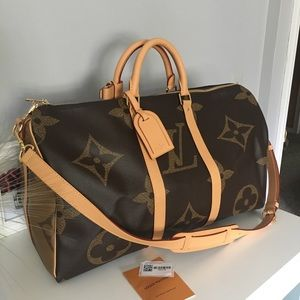 Louis Vuitton Giant Keepall 50